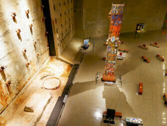 9/11 Museum in New York - interior