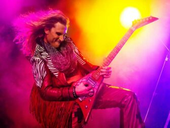 Rock of Ages the Musical in New York Tickets - Stacee Guitar