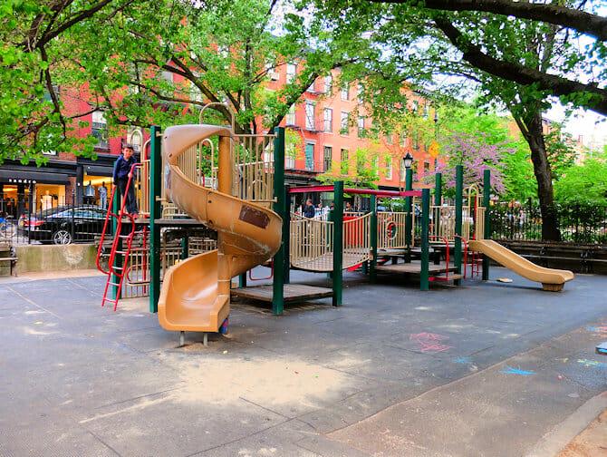Bleecker Street Playground New York