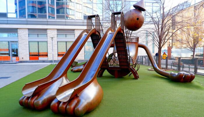 Silver Towers Playground NY
