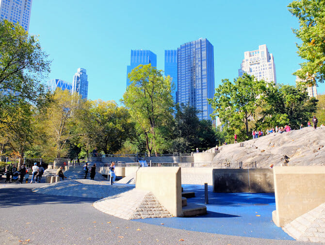 The Central Park Playground New York
