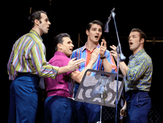 Jersey Boys in New York Tickets Frankie Valli and The Four Seasons