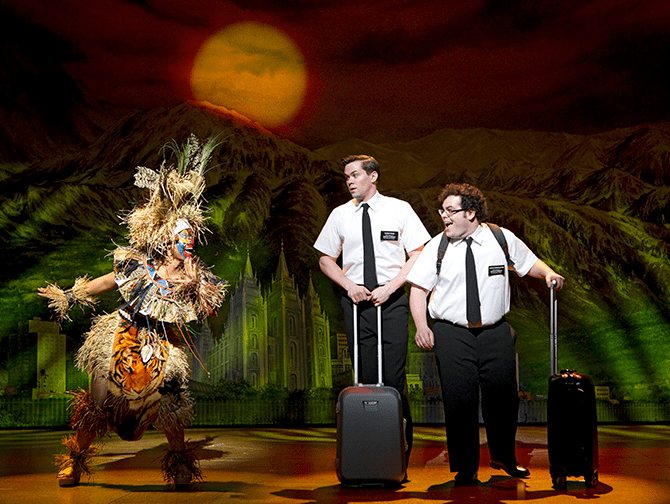 The Book of Mormon on Broadway Tickets Arnold and Kevin