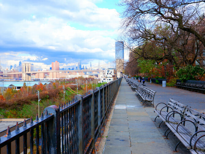 Brooklyn Tour - Brooklyn Heights Promenade