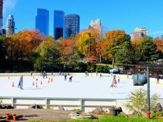 Central Park Movie Sites Walking Tour - Wollman-rink