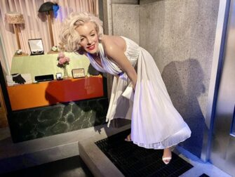 Madame Tussauds in New York Marilyn Monroe