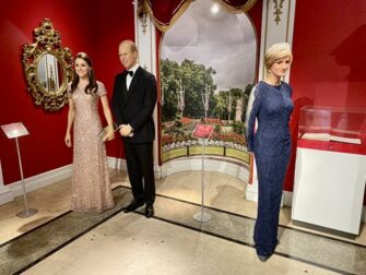 Madame Tussauds in New York Royal Family