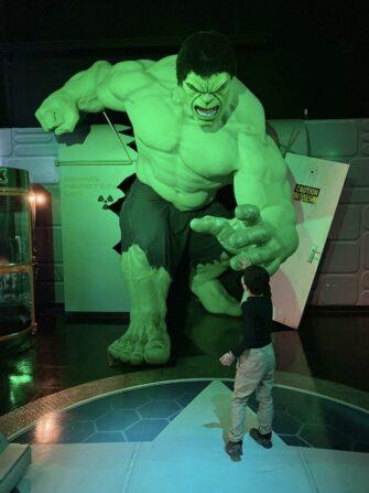 Madame Tussauds in New York The Hulk
