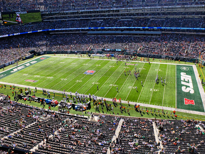 New York Jets American Football Game