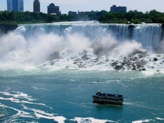 Two Day Niagara Falls Day Trip by Bus - boat tour