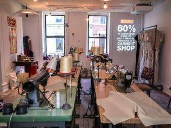 Tenement Museum Recreated Chinese garment factory