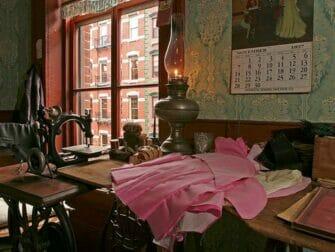 Tenement Museum in New York Levine Parlor Battman Studios