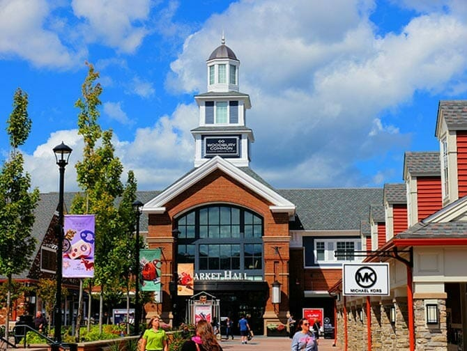 Woodbury Common Premium Outlet Center in New York 1