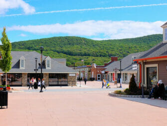 Woodbury Common Premium Outlet Center in New York Square