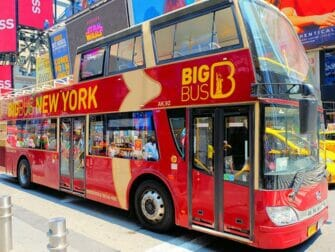 Hop-on Hop-off Bus in New York - Big Bus