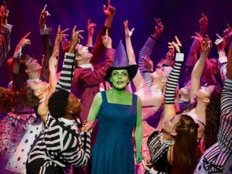 Wicked on Broadway Tickets Elphaba and Cast