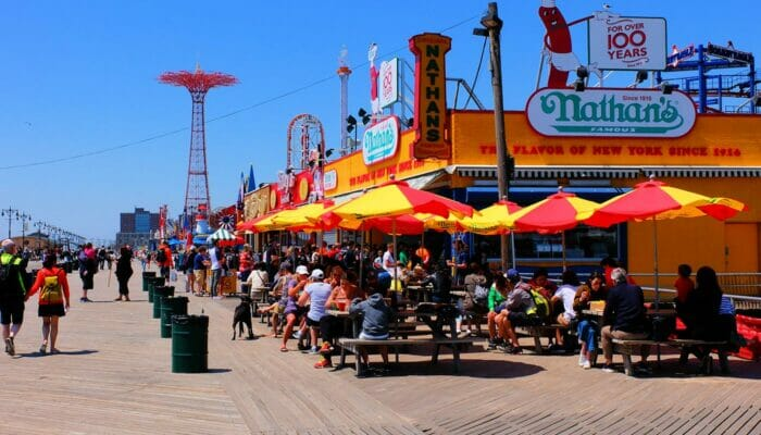 Pizza Tour in Brooklyn and Coney Island Coney Island Boardwalk