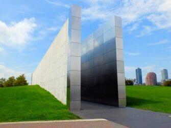 Empty Sky Memorial in New Jersey Side View