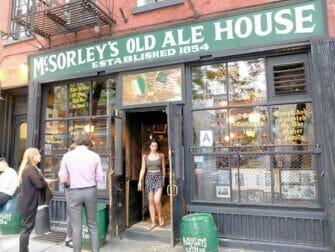 Hidden speakeasy bar tour in New York - McSorleys
