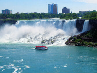 Niagara Falls by Private Plane Day Trip - Boat Tour