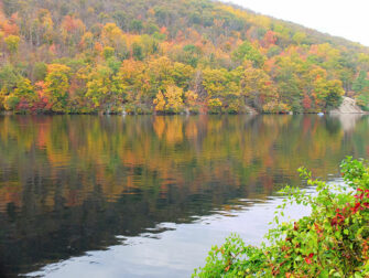 Daytrip to Bear Mountain in New York Fall Colors
