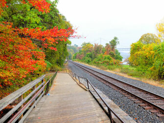 Daytrip to Bear Mountain in New York Train Track