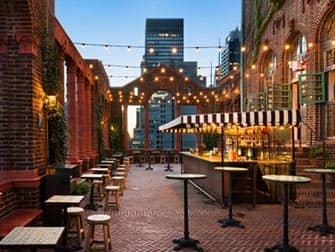 Pod Hotel 39 in New York - Rooftop Bar