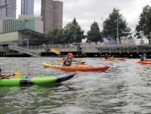 Kayaking in New York