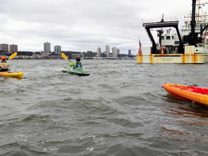 Kayaking in New York Kayaks
