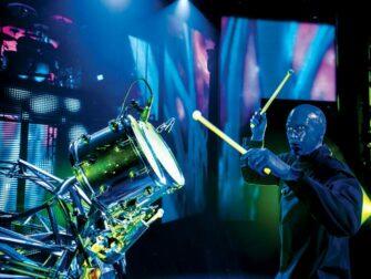 Blue Man Group in New York tickets Drummer