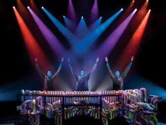 Blue Man Group in New York tickets Drums