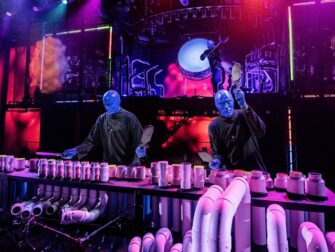 Blue Man Group in New York tickets On Stage