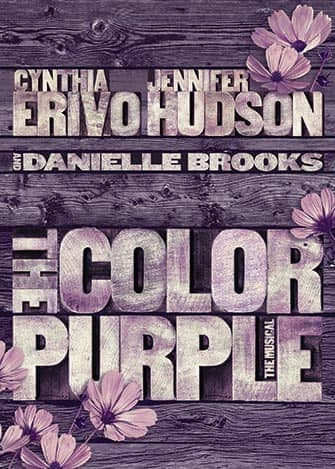 The Color Purple on Broadway - Poster