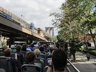 CitySights Hop-on Hop-off Bus in New York - Brooklyn Bridge