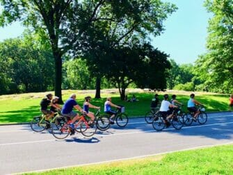 Renting a bike in New York Cycling in Central Park