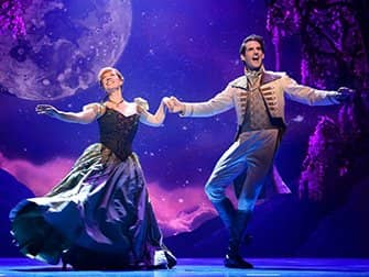 Frozen on Broadway Tickets - Anna and Hans