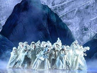 Frozen on Broadway Tickets - Cast