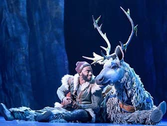 Frozen on Broadway Tickets - Kristoff and Sven