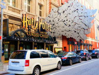Theater District in New York - Broadway Musicals