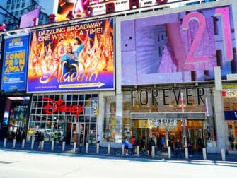 Theater District in New York - Forever21
