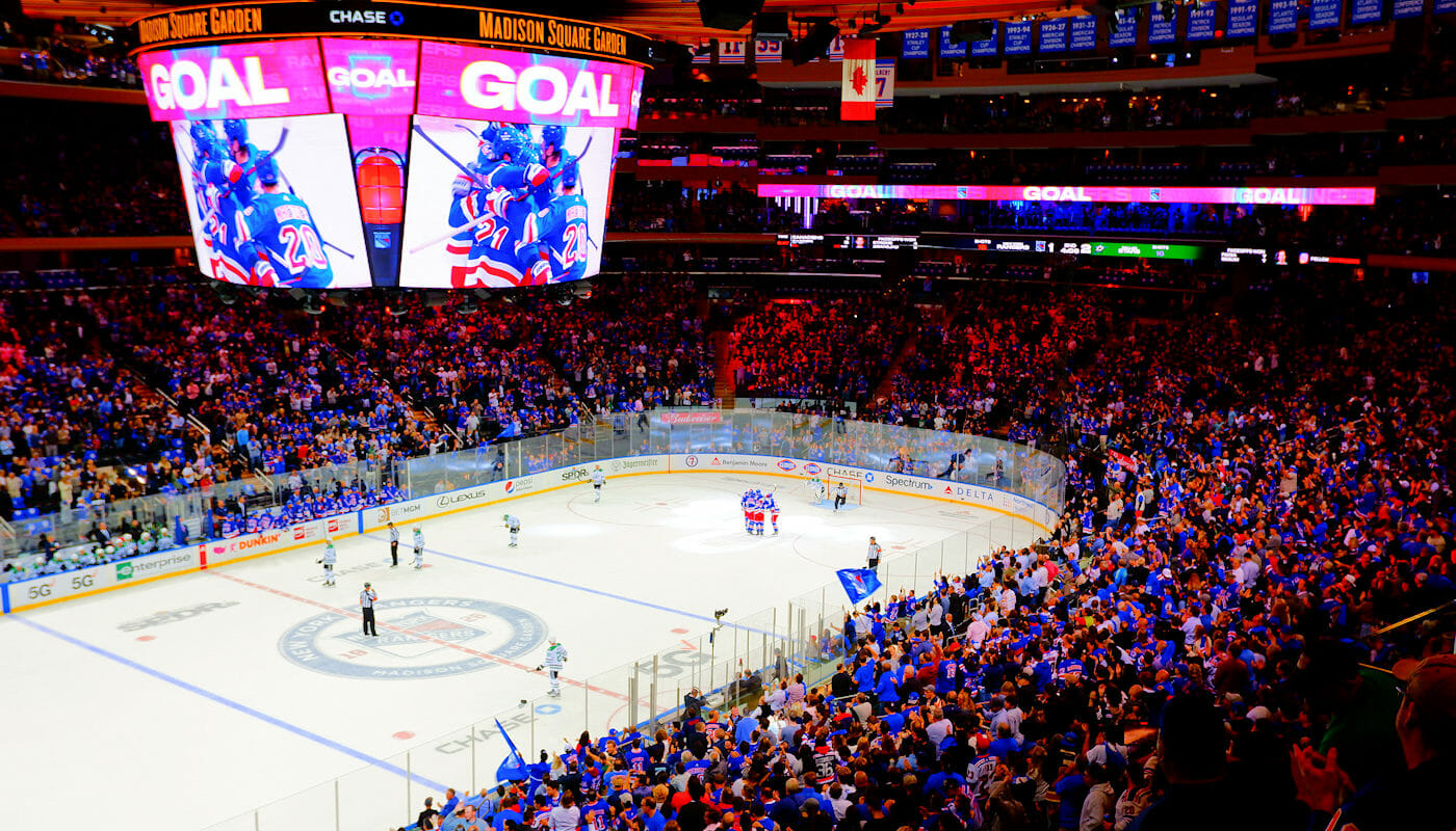 NHL Ice Hockey in New York