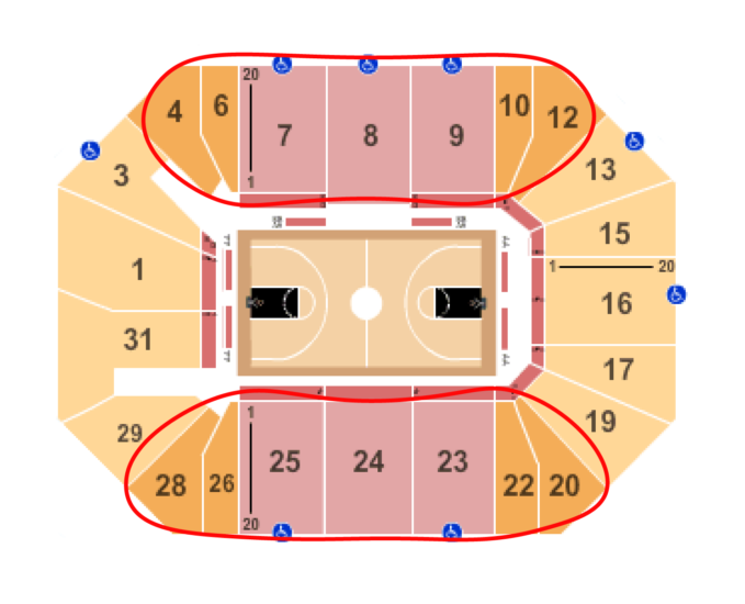 New York Liberty Basketball tickets Seating chart Barclays Center