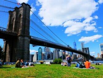 Best Views in New York - Brooklyn Bridge Park