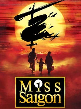 Miss Saigon on Broadway Tickets - Poster