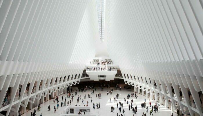 World Trade Center Transportation Hub - Interioir