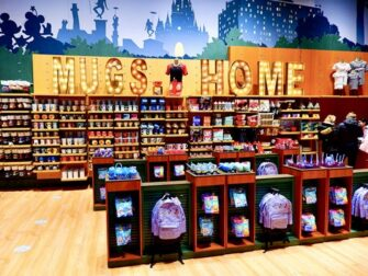 Disney Store on Times Square Mugs