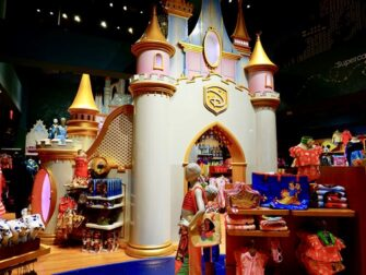 Disney Store on Times Square Princess Castle