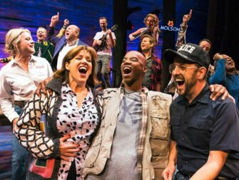 Come from away on Broadway tickets Joy