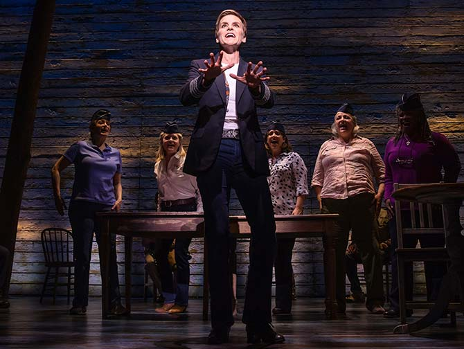 Come from away on Broadway tickets The Pilot