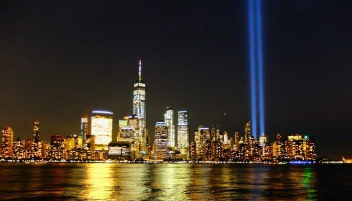 911 in New York - Tribute in Light